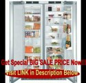 SPECIAL DISCOUNT Liebherr Sbs-24i3 21.3 Cu. Ft. Capacity 3 Zone Built-in Side-by-side Refrigerator / Freezer - Custom Panel Doors / Stainless Steel Cabinet