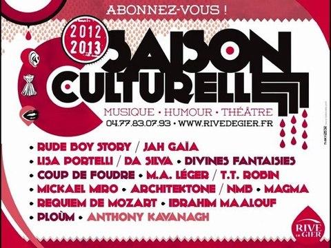 Présentation de la saison culturelle 2012-2013 de la Ville de Rive de Gier