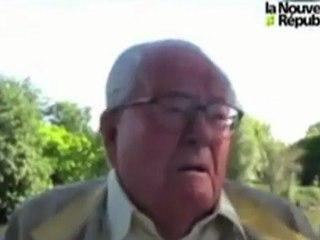 Jean-Marie Le Pen calcine Mouloud Achour (canal+)