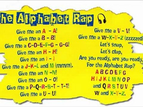 The Alphabet Rap