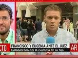 Fran Rivera y Eugenia Martínez de Irujo se ven las caras en los juzgados