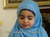 Dailymotion - Fatima 2 ans répond à des questions sur l'islam!, une vidéo de islam-nour. allah, dieu, religion, anasheed, mosquées