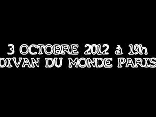 KABAL - DIVAN DU MONDE - 3 OCTOBRE 2012 - Paris