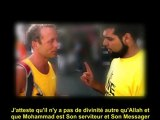 Conversion d'un jeune athée lors des jeux olympiques de 2012