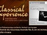 Antonin Dvorak : Symphonie du nouveau monde No.9, en mi mineur, Op. 95 : Molto vivace