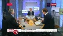 L'INVITE POLITIQUE,Claude Allègre