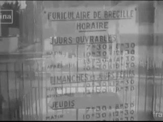 Le Funiculaire de Besançon en 1972
