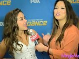 Tiffany Maher at So You Think You Can Dance Tour Press Junket #SYTYCD @Dance9Tiffany