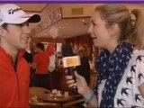 ROBBIE WILLIAMS FARRELL INTERVIEW DUBLIN