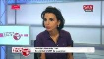 """Rachida Dati : """"Nous ne sommes pas aux côtés de ces peuples arabes pour les soutenir dans le processus de démocratie."""""""