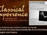 Antonin Dvorak : Symphonie du nouveau monde No.9, en mi mineur, Op. 95 : Allegro con fuoco
