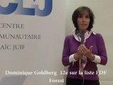 Elections communales 2012 - Dominique Goldberg (FDF)