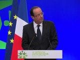 Discours d'ouverture de François Hollande à la Conférence environnementale 2012