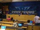 Deportes / Fútbol; Messi, decisivo en la victoria del Barça ante el Spartak
