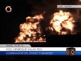 Gobernador Salas denunció falta de mantenimiento en pararrayos de El Palito
