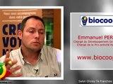 Coopérative BIOCOOP : interview Emmanuel PERRIN