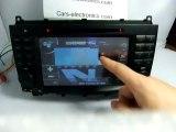Mercedes CLK W209 GPS Navigation - Mercedes Benz CLK W209 DVD Player