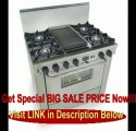 BEST PRICE 36 Pro-Style Dual-Fuel LP Gas Range with 4 Open Burners Vari-Flame Simmer on Front Burners 3.69 cu. ft. Convection Oven and Double Sided Grill/Griddle Stainless