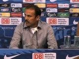 Herthas Kluge und Ben-Hatira gegen Kaiserslautern fit