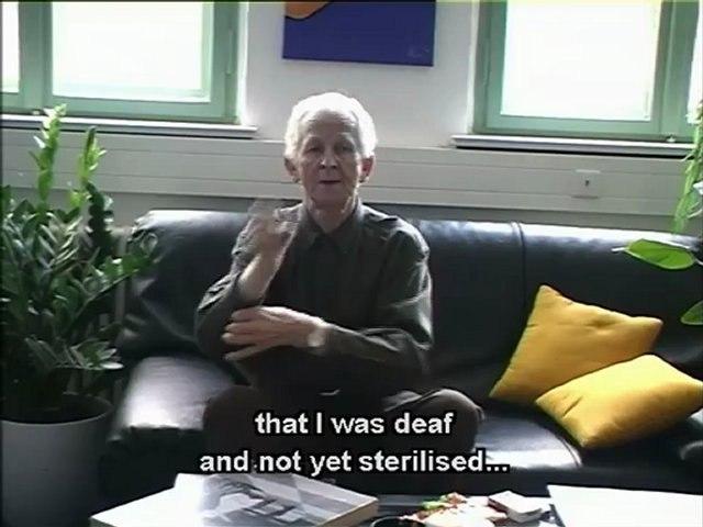 Deaf witnesses, silent witnesses