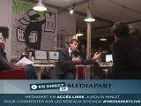 Montebourg en direct de Mediapart : Pulvar, Pigasse et lui