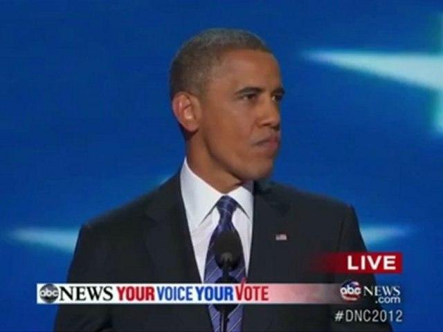 Silences : President Barack Obama DNC Silences Complete