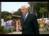 Leslie Nielsen destroys a camping in Holland