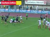 Rugby Pro D2 : Tarbes Pyrénées Rugby 37 – Union Sportive Carcassonne 30