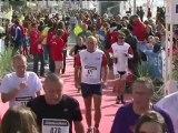 Arrivée Tri-relais Entreprises Triathlon Audencia La Baule 2012