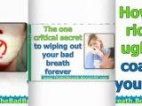bad breath home remedies - baby bad breath - how to treat bad breath