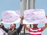 Bateau arraisonné: réactions à Gaza