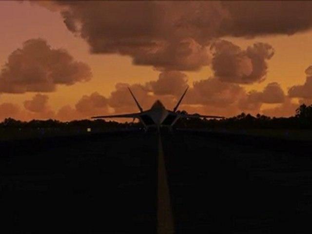F-22 Raptor Display - An FSX movie