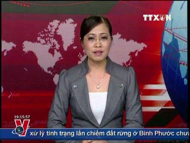 BẢN TIN THỜI SỰ TRUYỀN HÌNH THÔNG TẤN 19H 19.07.2011, TTXVN, VNEWS, TIN TỨC