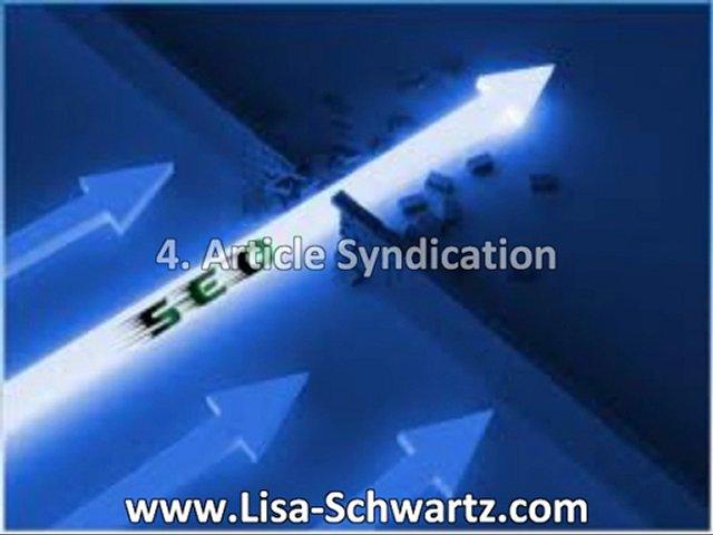 Lisa Schwartz – Real Estate and Internet Marketing Expert