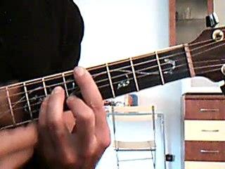 A nos actes manqués - Goldman - Accords Guitare avec cours en vidéo