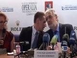 Plácido Domingo, fiel a su cita con Operalia