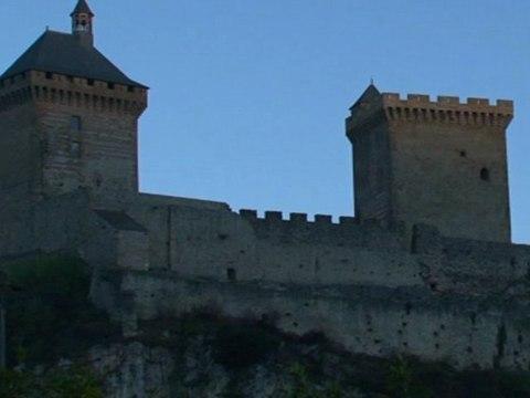 Château de Foix : Routes du Catharisme et du Moyen âge