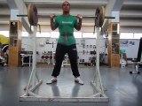Cipriani Training squat 100kg x5 6° serie