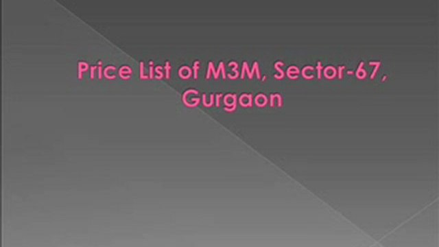 M3M Merlin Gurgaon, M3M Merlin Sector-67 @ 9990114352, M3M Merlin in Gurgaon, Residential project, Apartments in Gurgaon