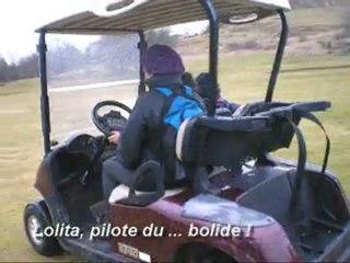 Golf Club de l'Ariège, visite en voiturettes - Patrick Couserans