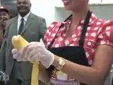 Amber Rose Shakes her Milkshake @ Millions of Milkshakes