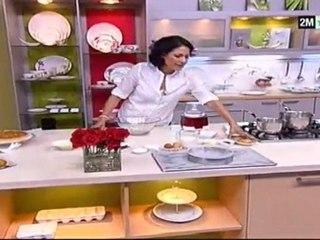 Choumicha recettes - Tarte chocolat et tarte amande