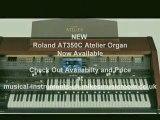 Roland Atelier Organs For Sale -  Atelier AT350C Portable Organ