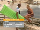 Turistes estrangers a les Illes Balears