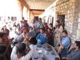 """pas d'nom pas d'maison au Maroc, jam session au bar """"chez rachid"""" place de telouet."""
