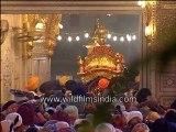 Golden temple ceremony, Amritsar