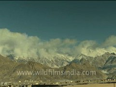 Time Lapse of Clouds Ladakh