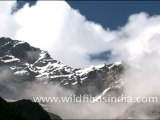 Time lapse in Himalayan mountains