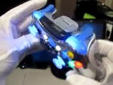 Custom Xbox 360 controller - Chrome with LED mods