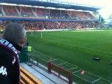 Le Kop lensois, match RC Lens - Clermont Foot - 1er tour CDL 10/11